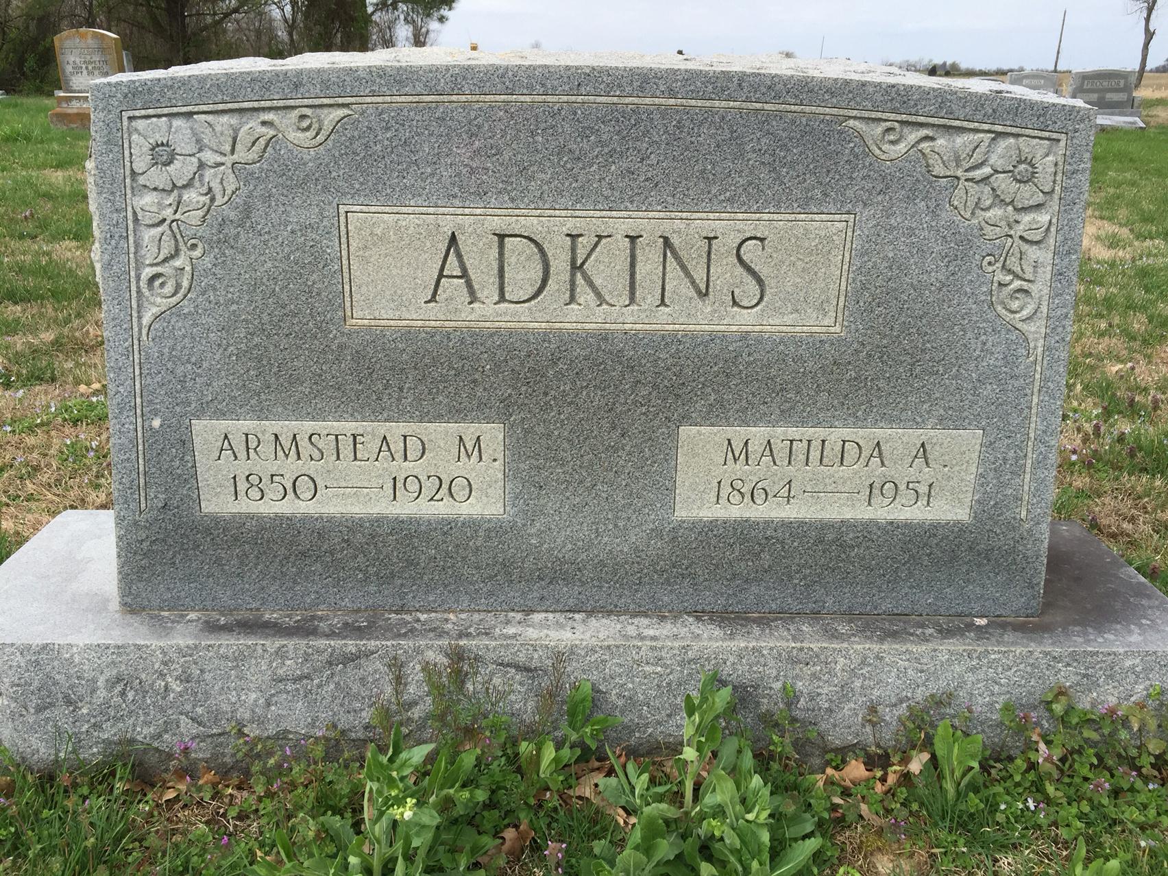 Matilda Ann <i>Veatch</i> Adkins