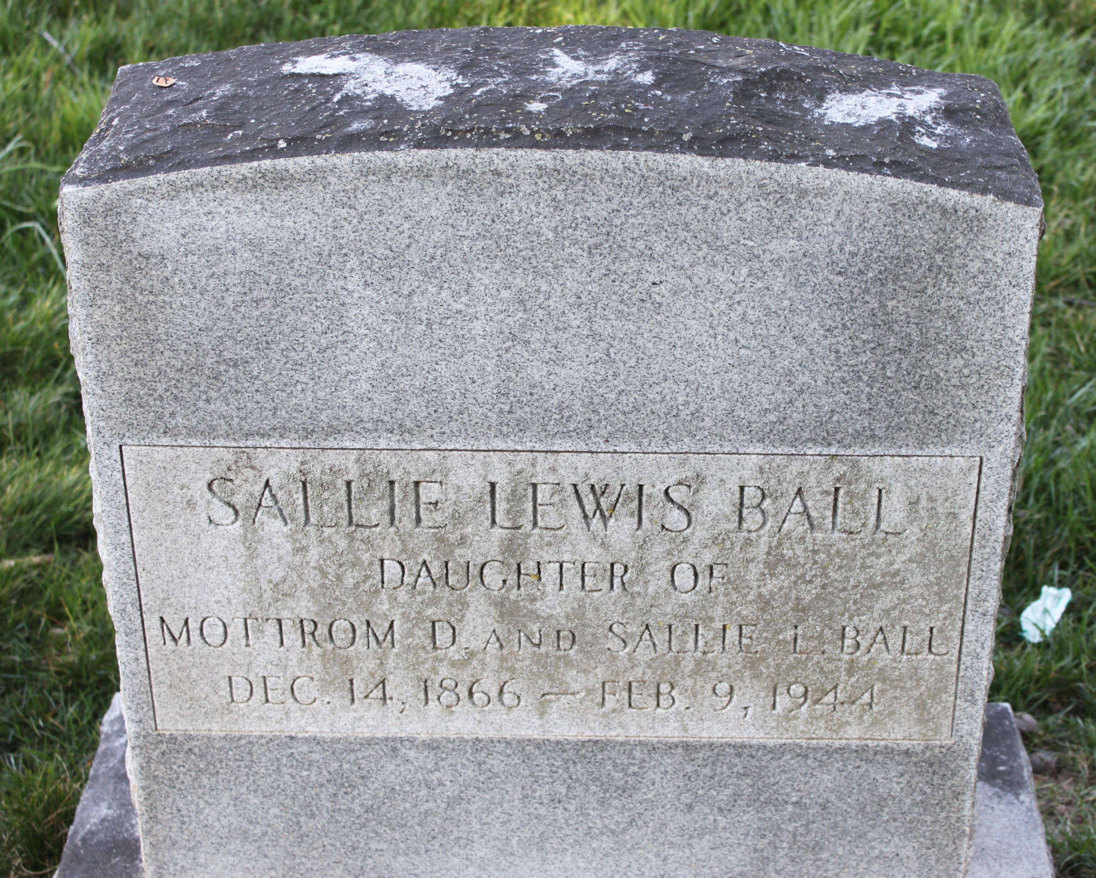 Sarah Lewis Sallie Ball