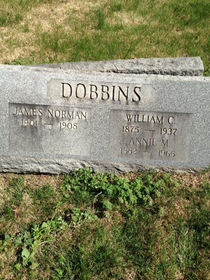 Annie M <i>Moore</i> Dobbins