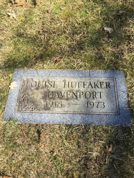 Louise <i>Huffaker</i> Davenport