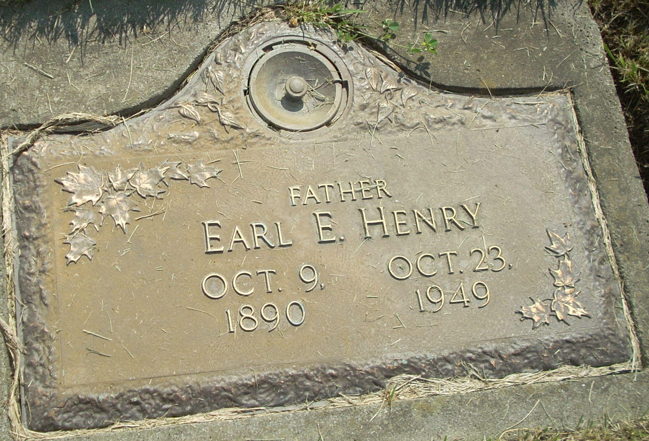 Earl Ernest Henry