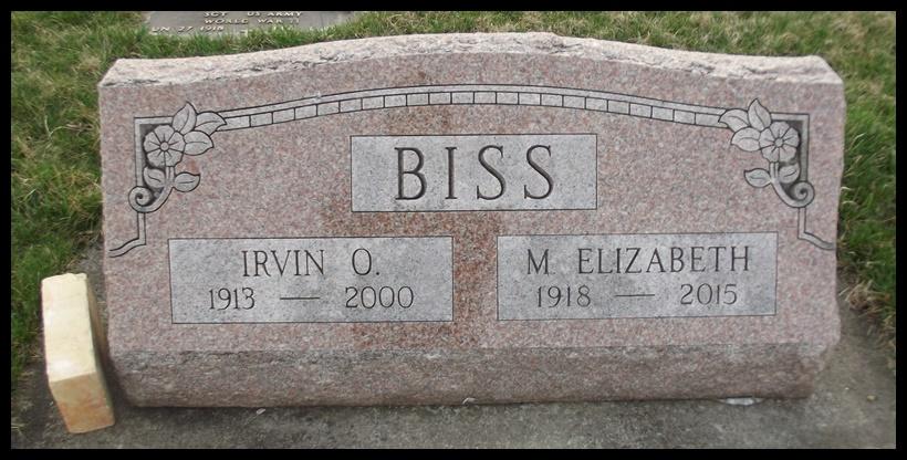 Irvin Oliver Biss