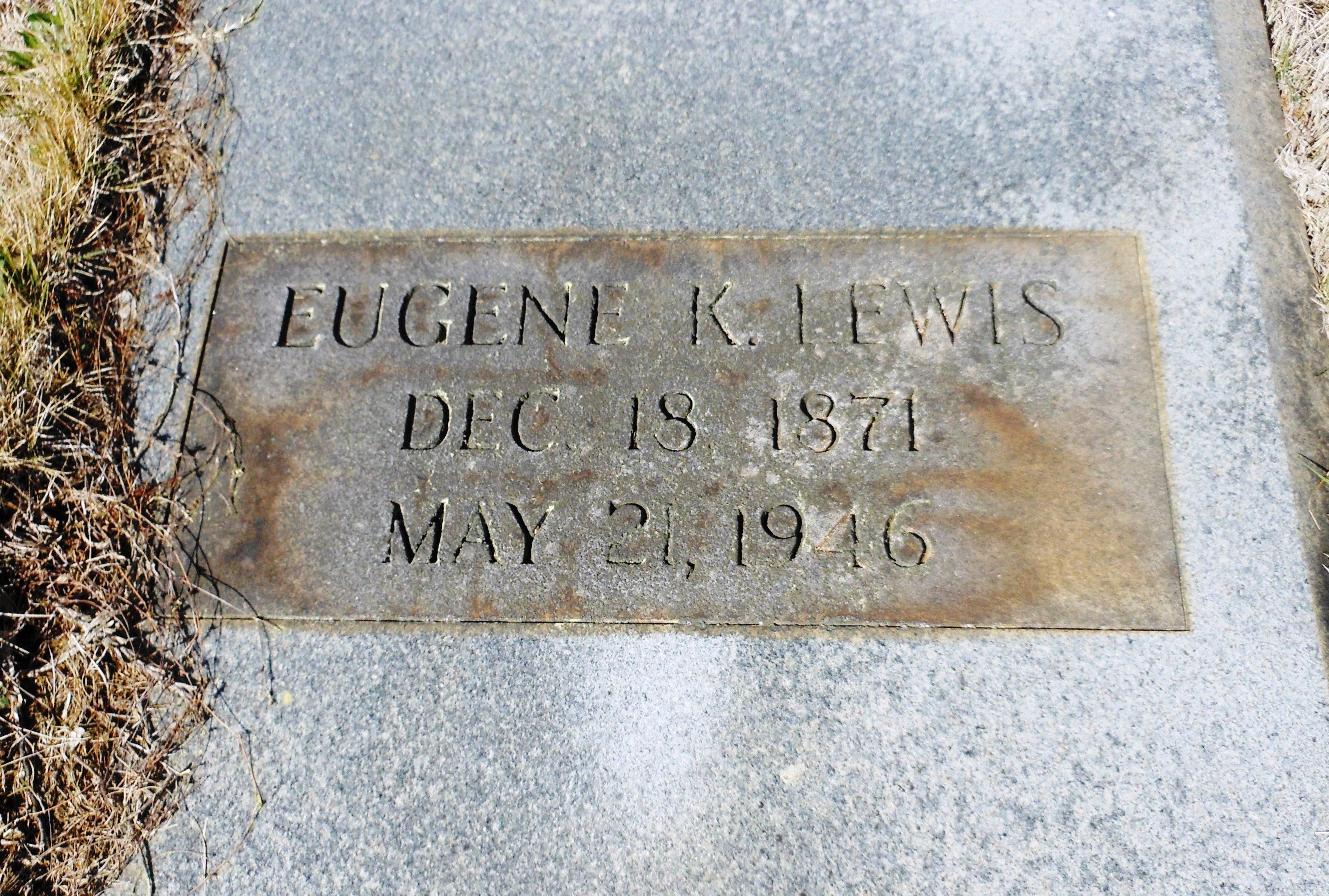 Eugene K Lewis