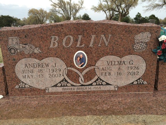 Andrew James (A.J.) (Andy) Bolin