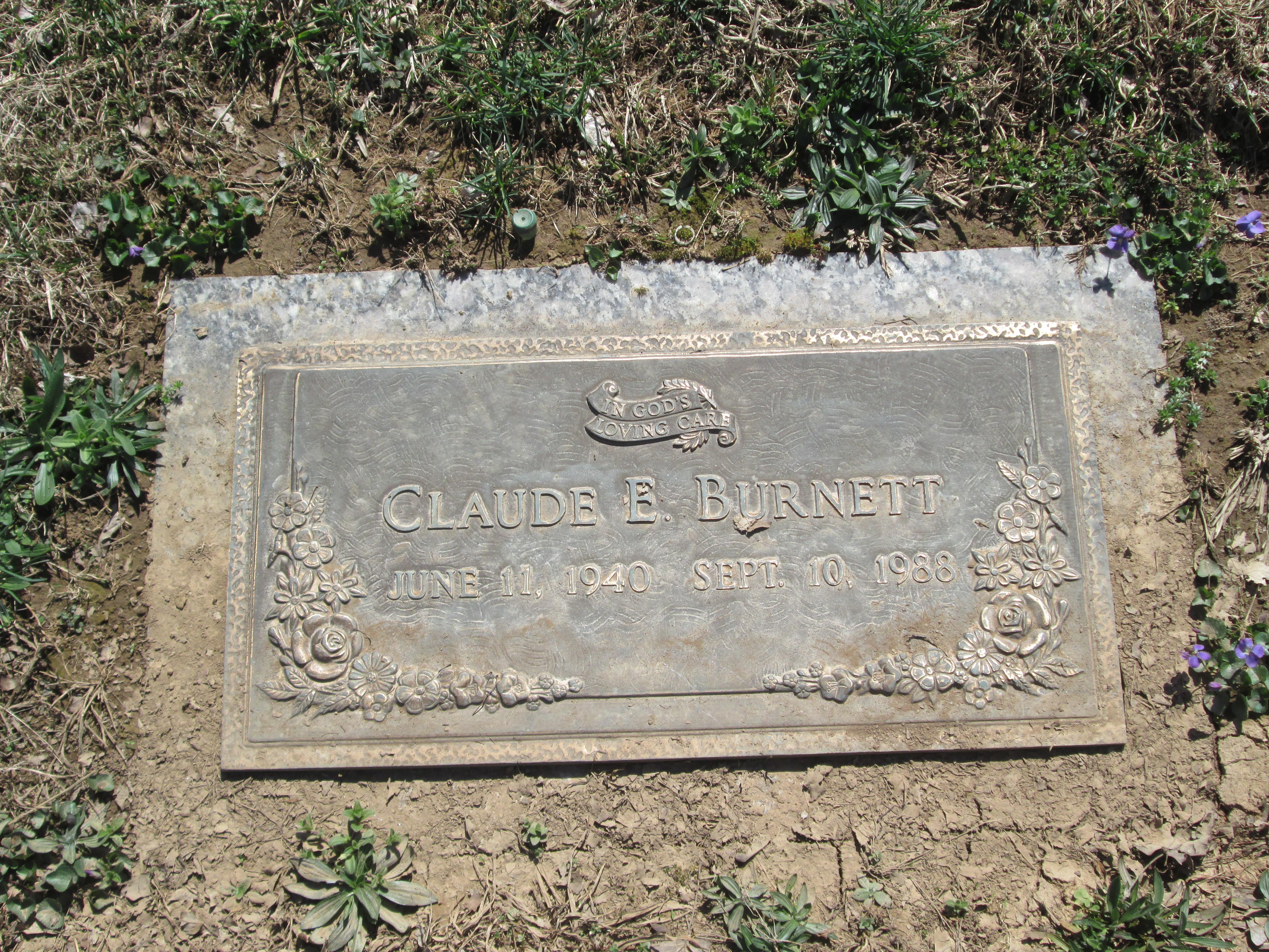 Claude Eugene 'Gene' Burnett