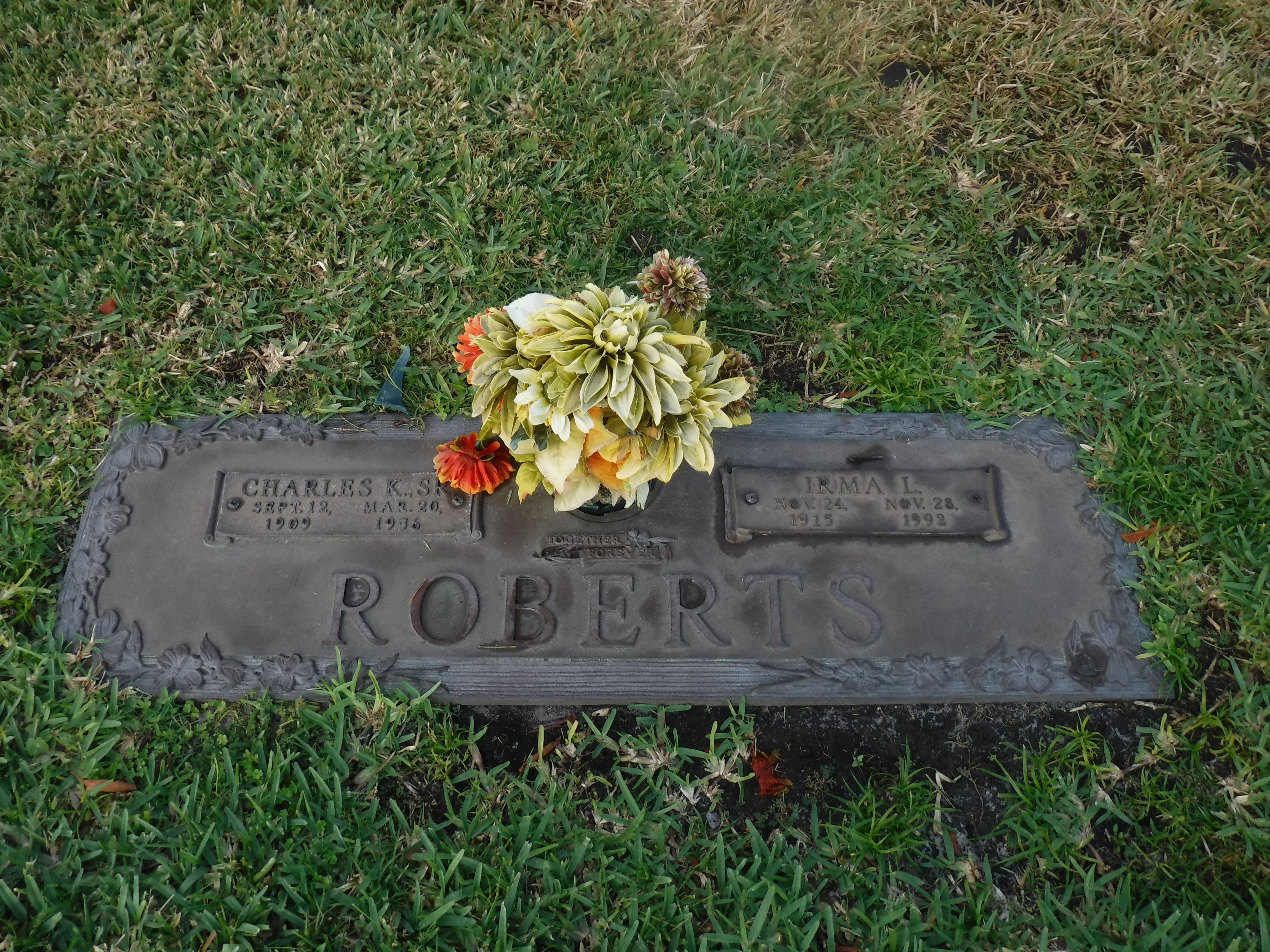 Irma Lorraine <i>Roberts</i> Roberts