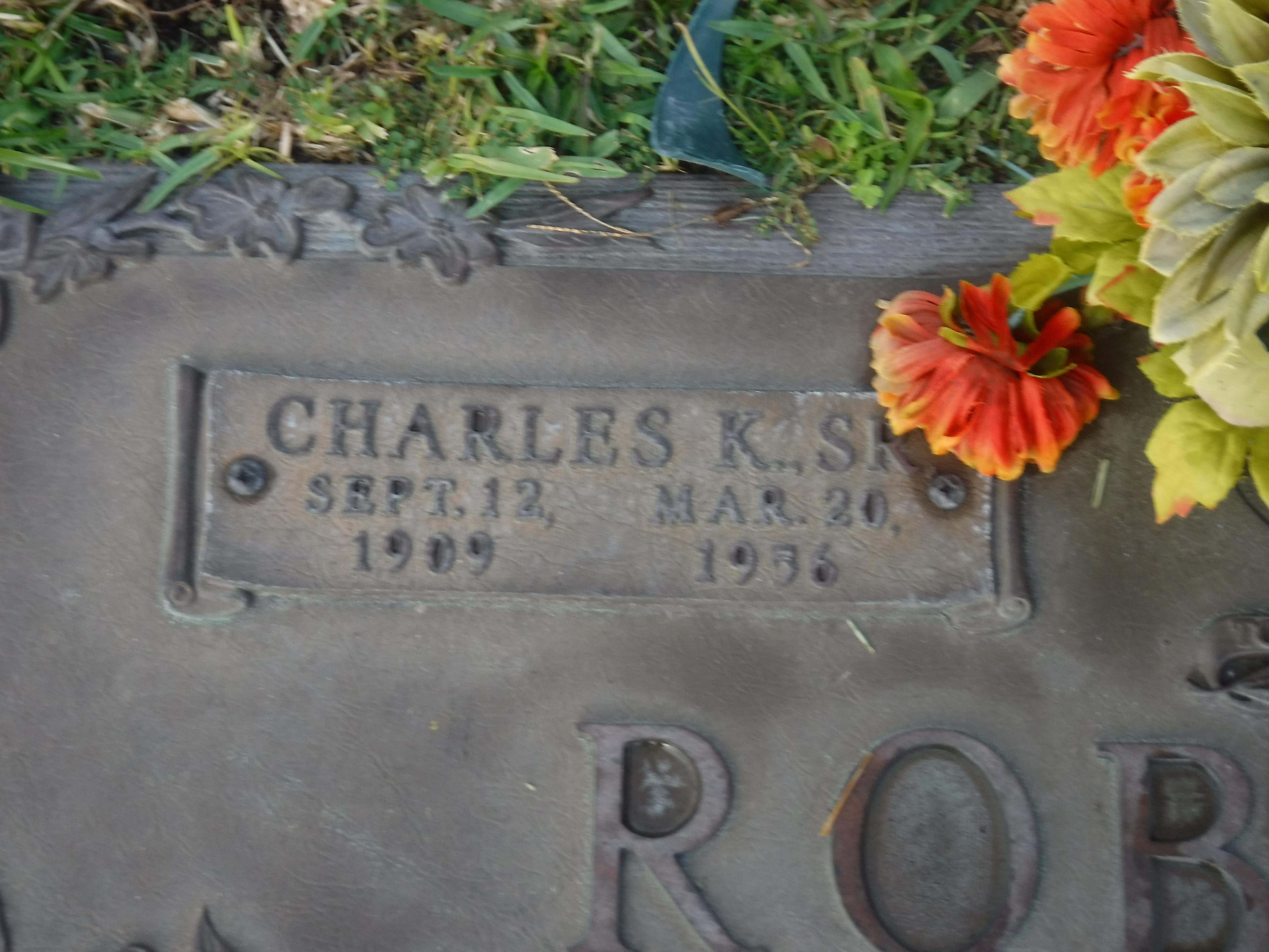 Charles K Roberts, Sr