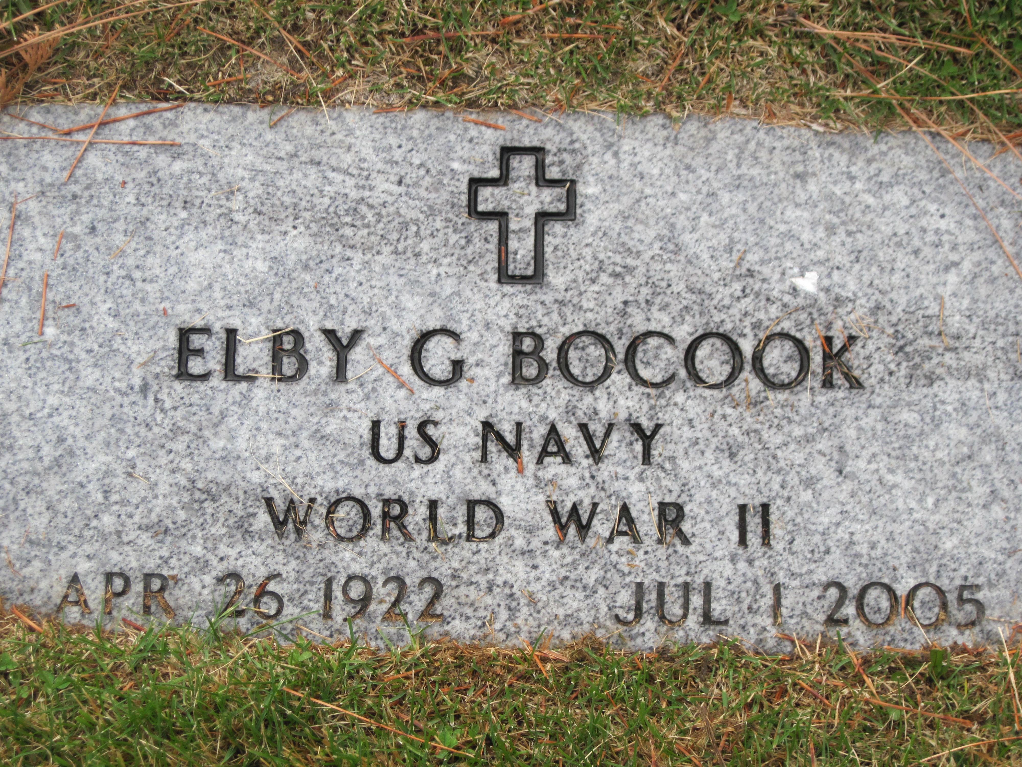 Elby G Bocook
