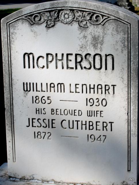 William Lenhart McPherson