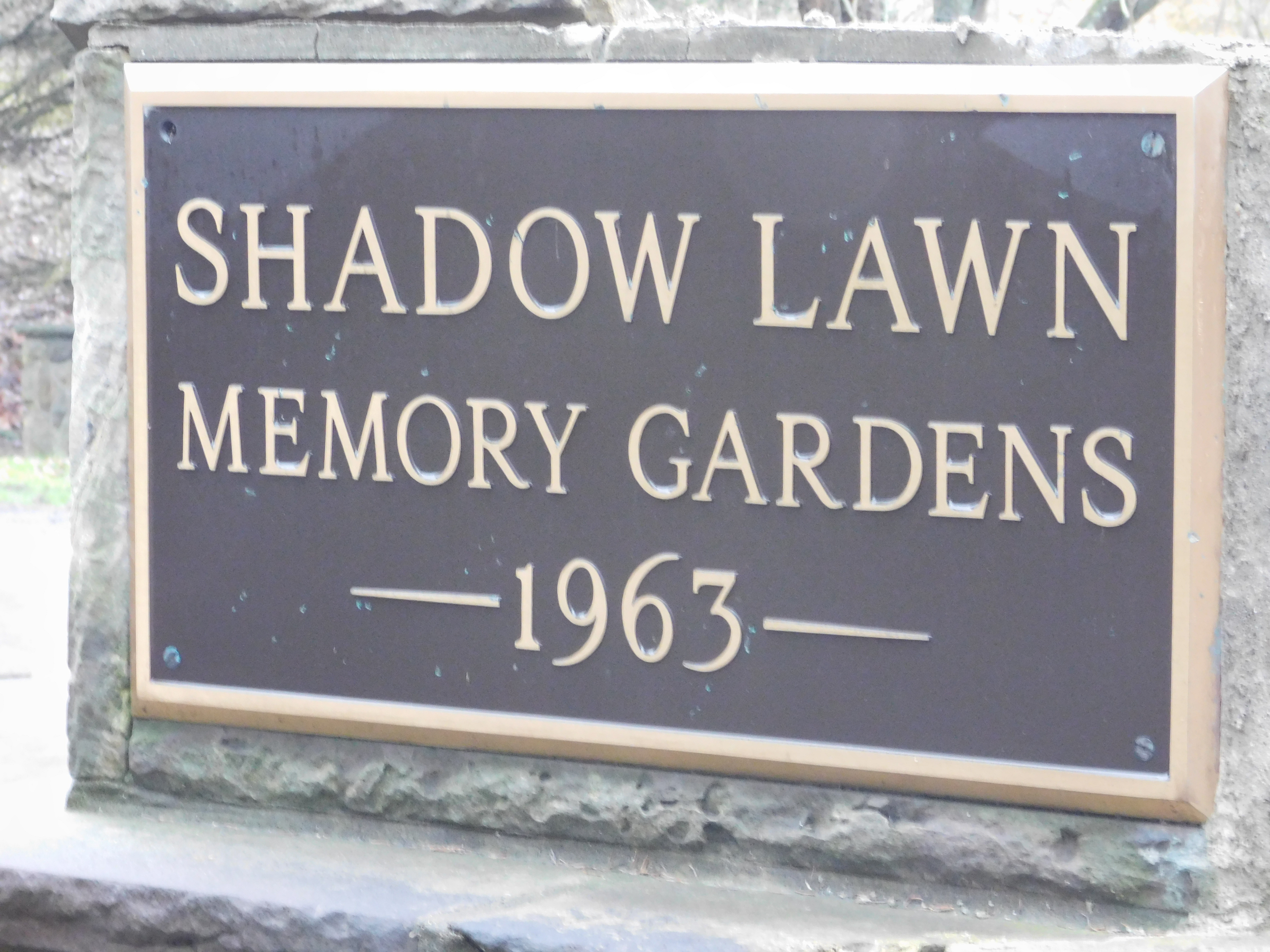 Shadow Lawn Memory Garden