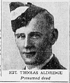 Sgt Thomas R Aldridge