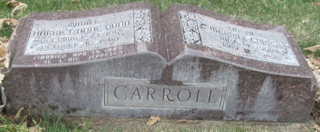 Harriet Anne <i>Dunn</i> Carroll