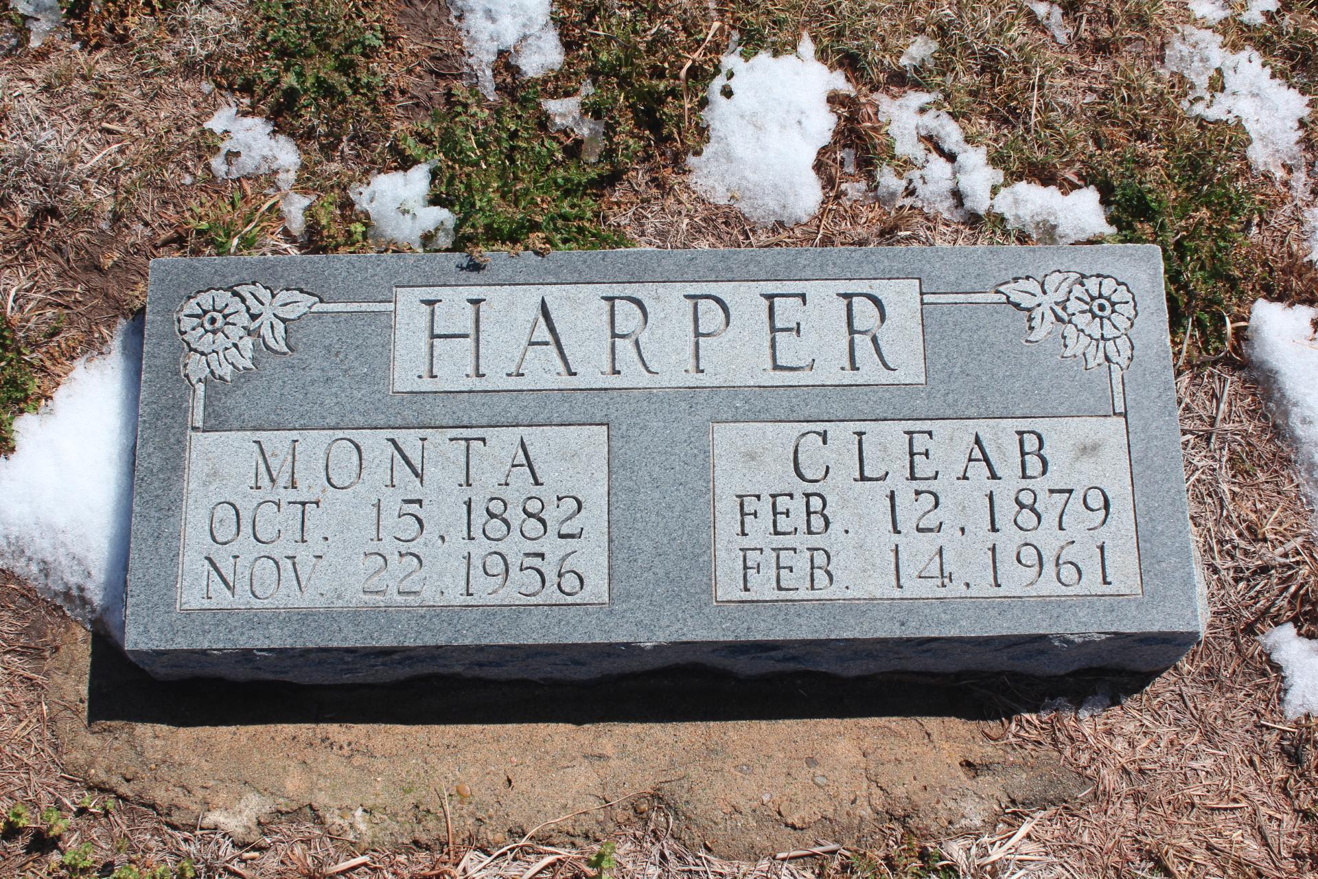 Monta Ann <i>Thomas</i> Harper