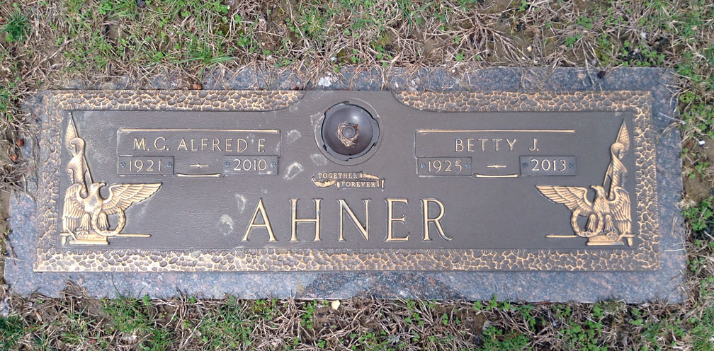 Betty Jane <i>Young</i> Ahner