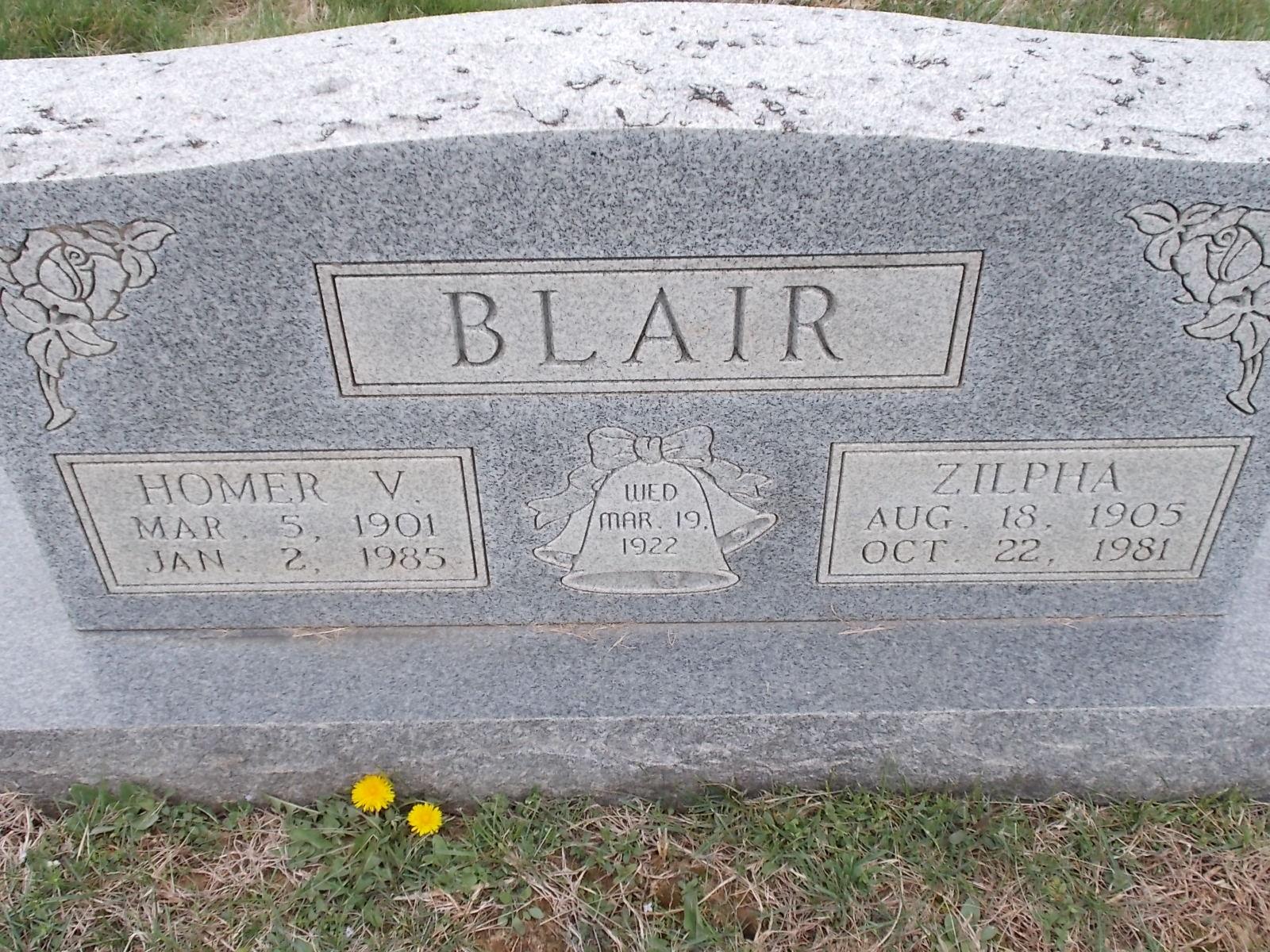 Zilpha <i>Pate</i> Blair
