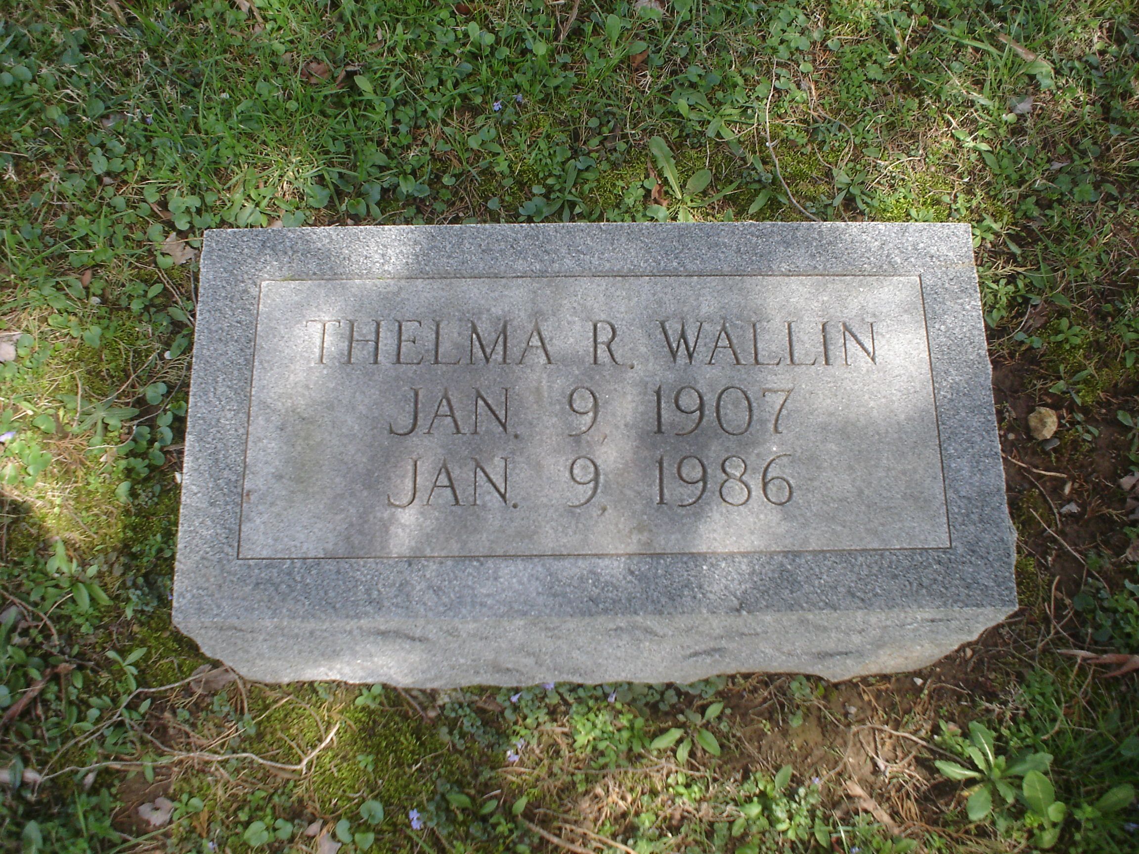 Thelma R. Wallin