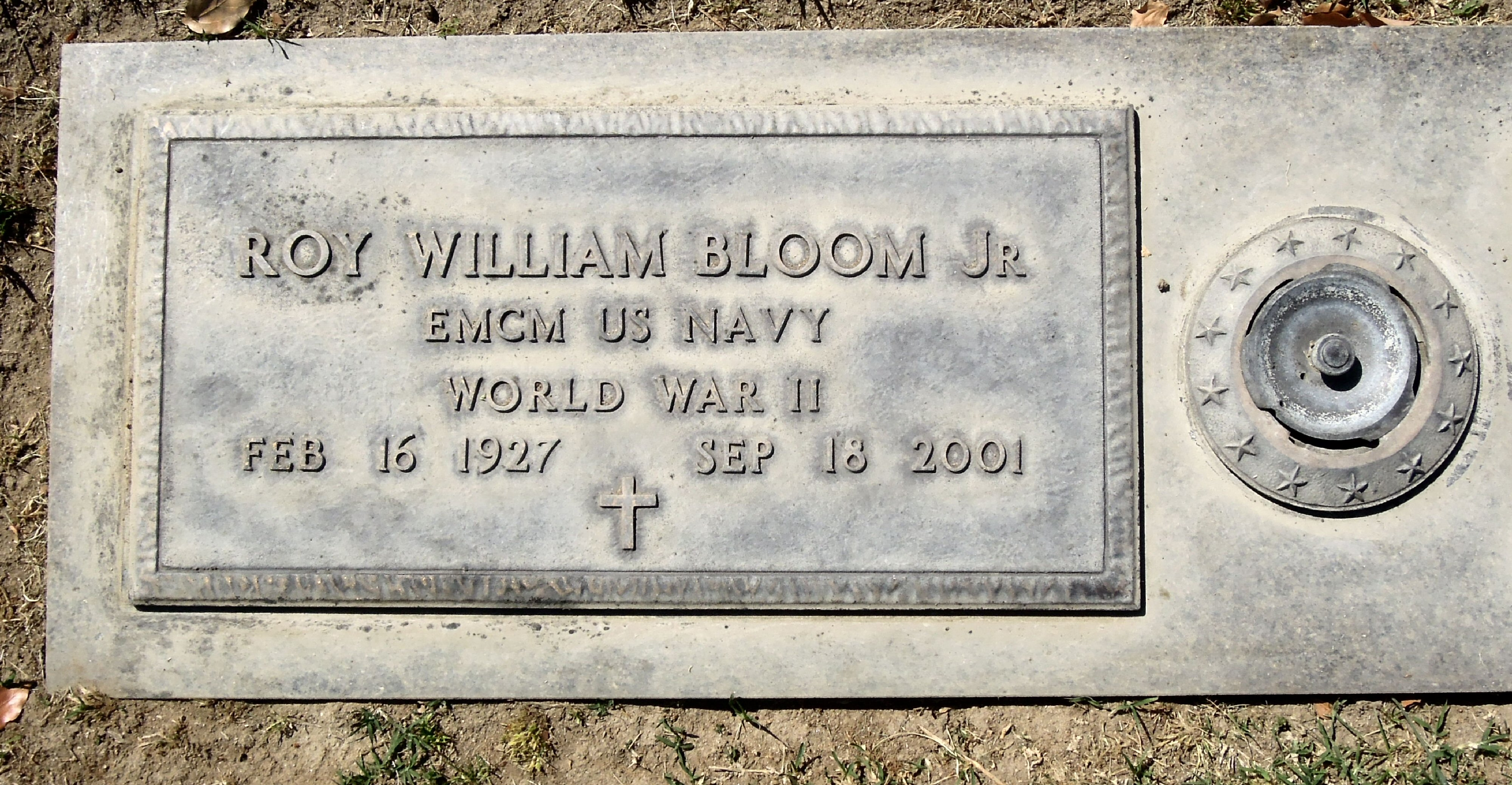 Roy William Bloom, Jr