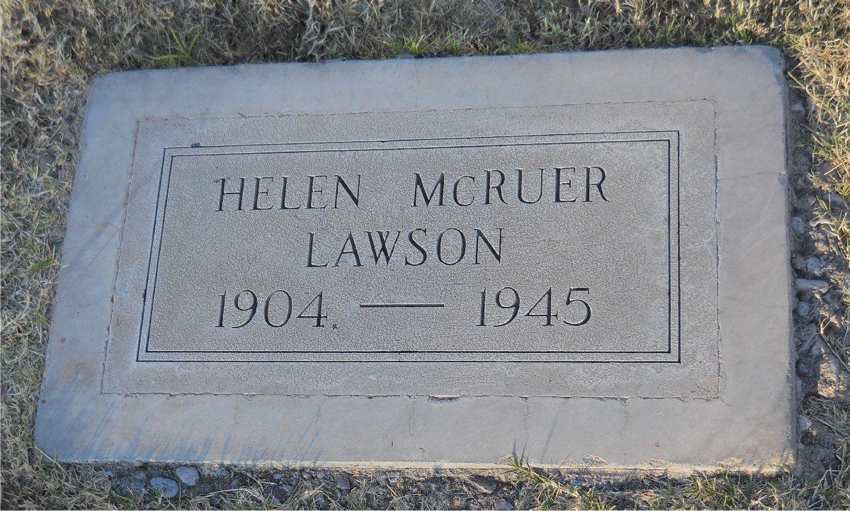 Helen McRuer Mitchell