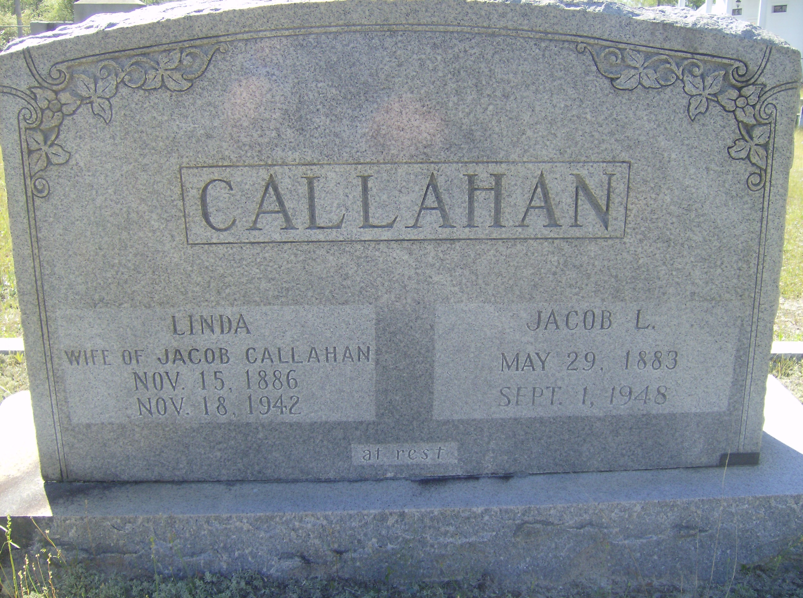 Belinda Catherine Linda <i>Hooker</i> Callahan