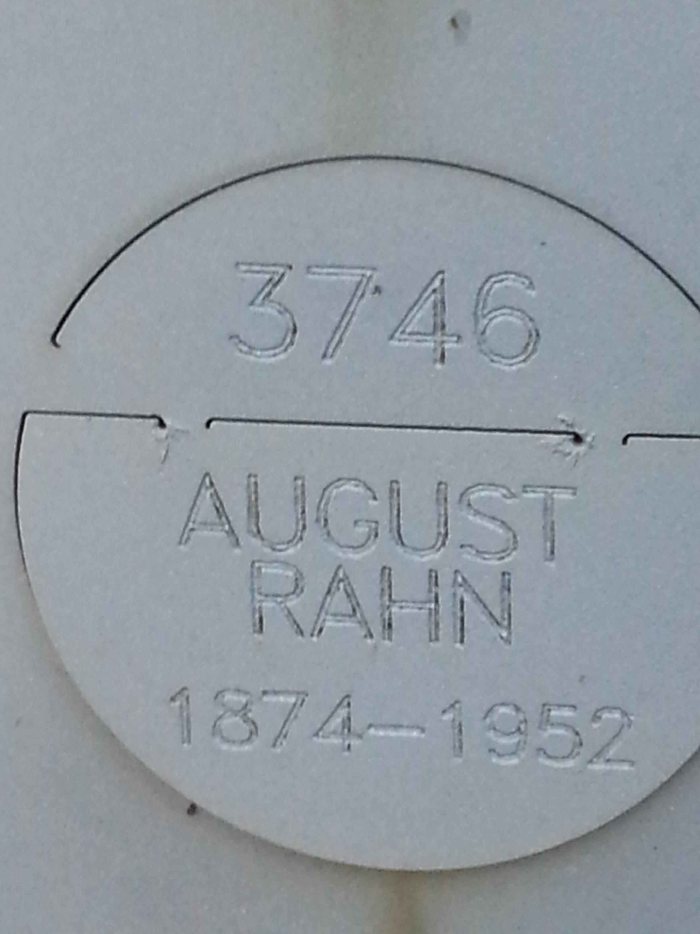 August C. Rahn