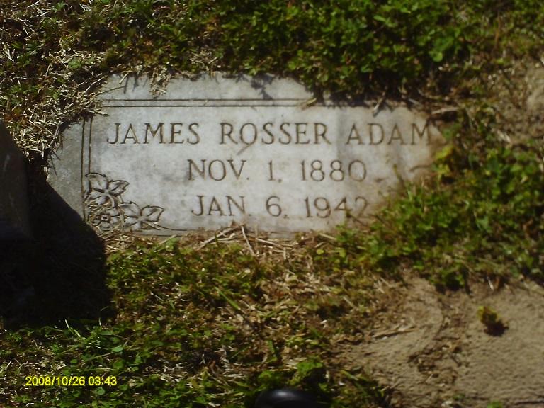 James Rosser Adams, Sr