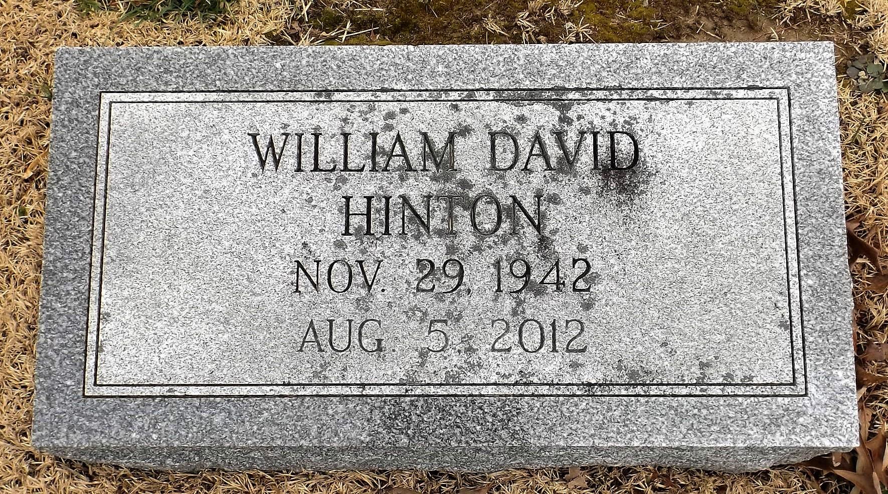 William David Hinton