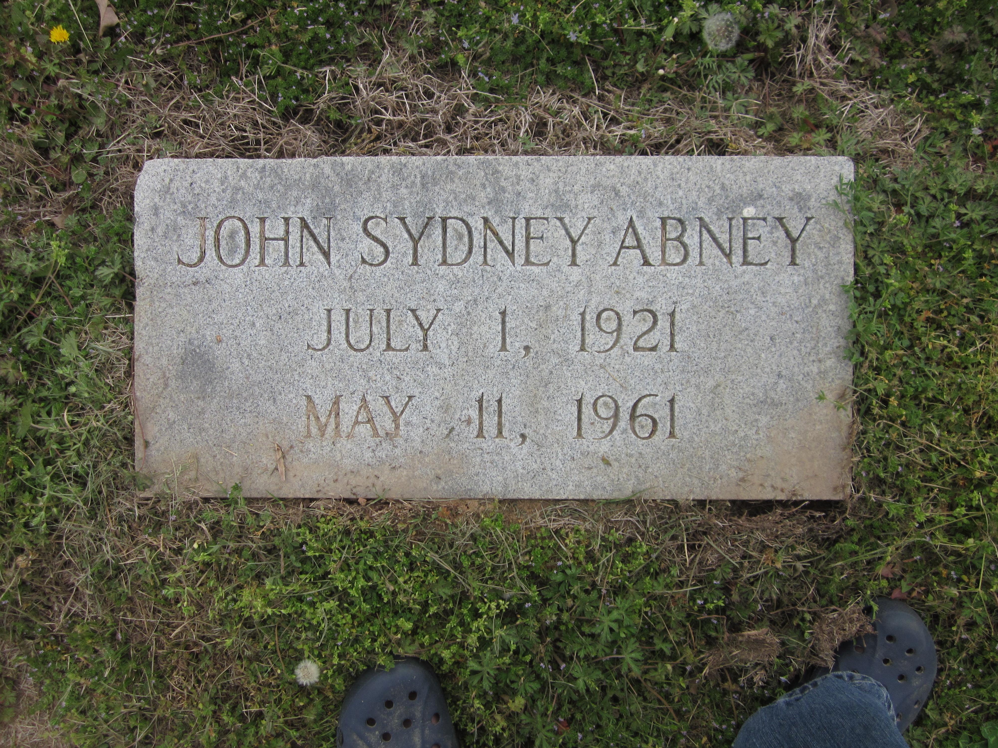 John Sydney Abney