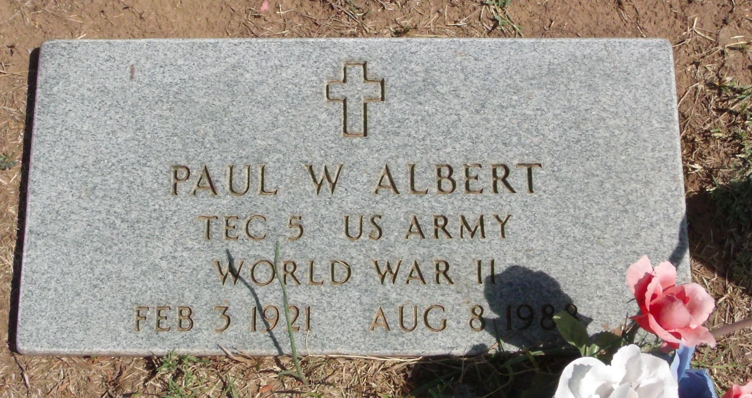 Paul W Albert
