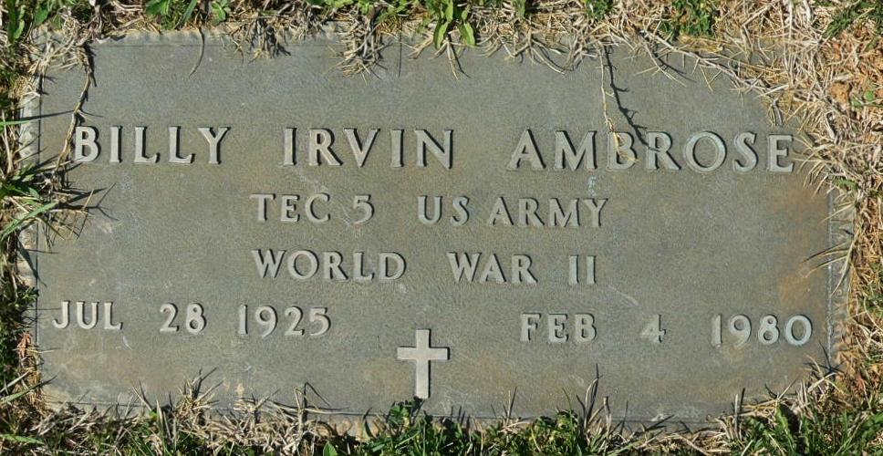 Billy Irvin Ambrose