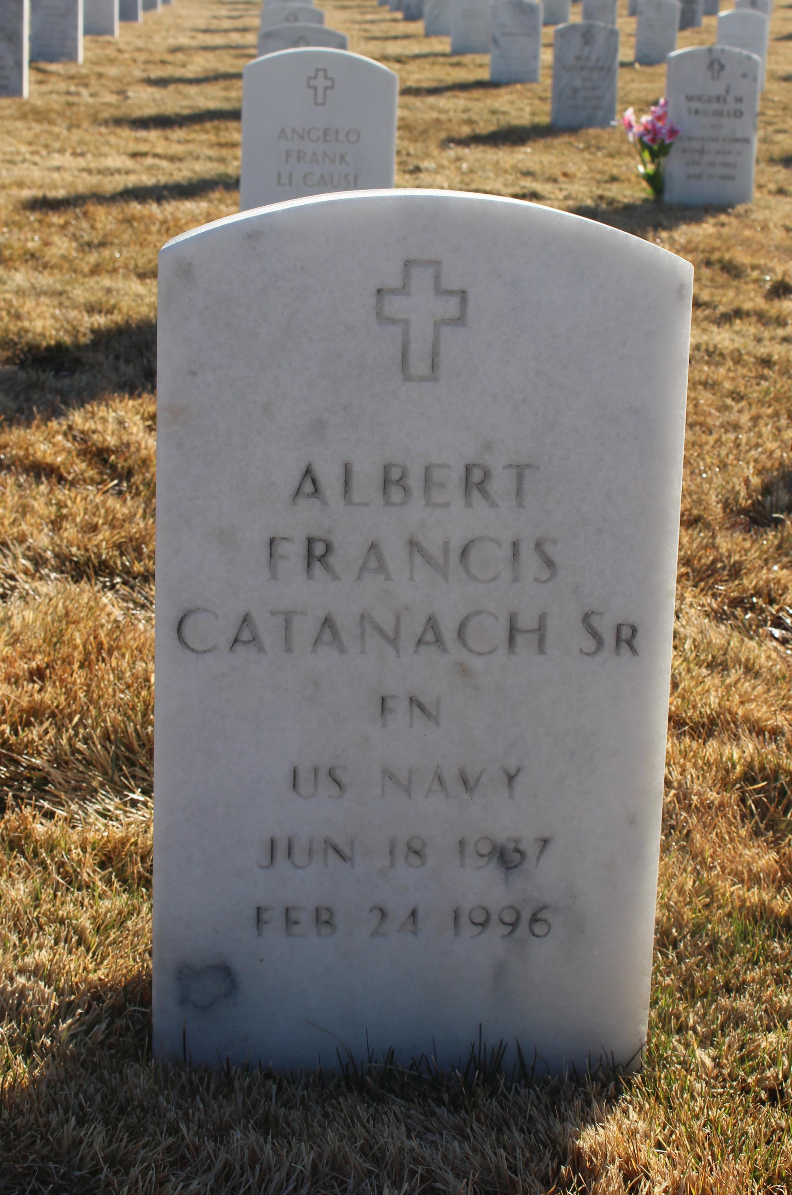 Albert Francis Catanach, SR
