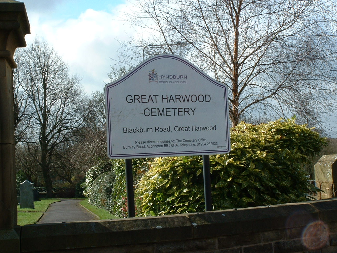 Great Harwood Cemetery