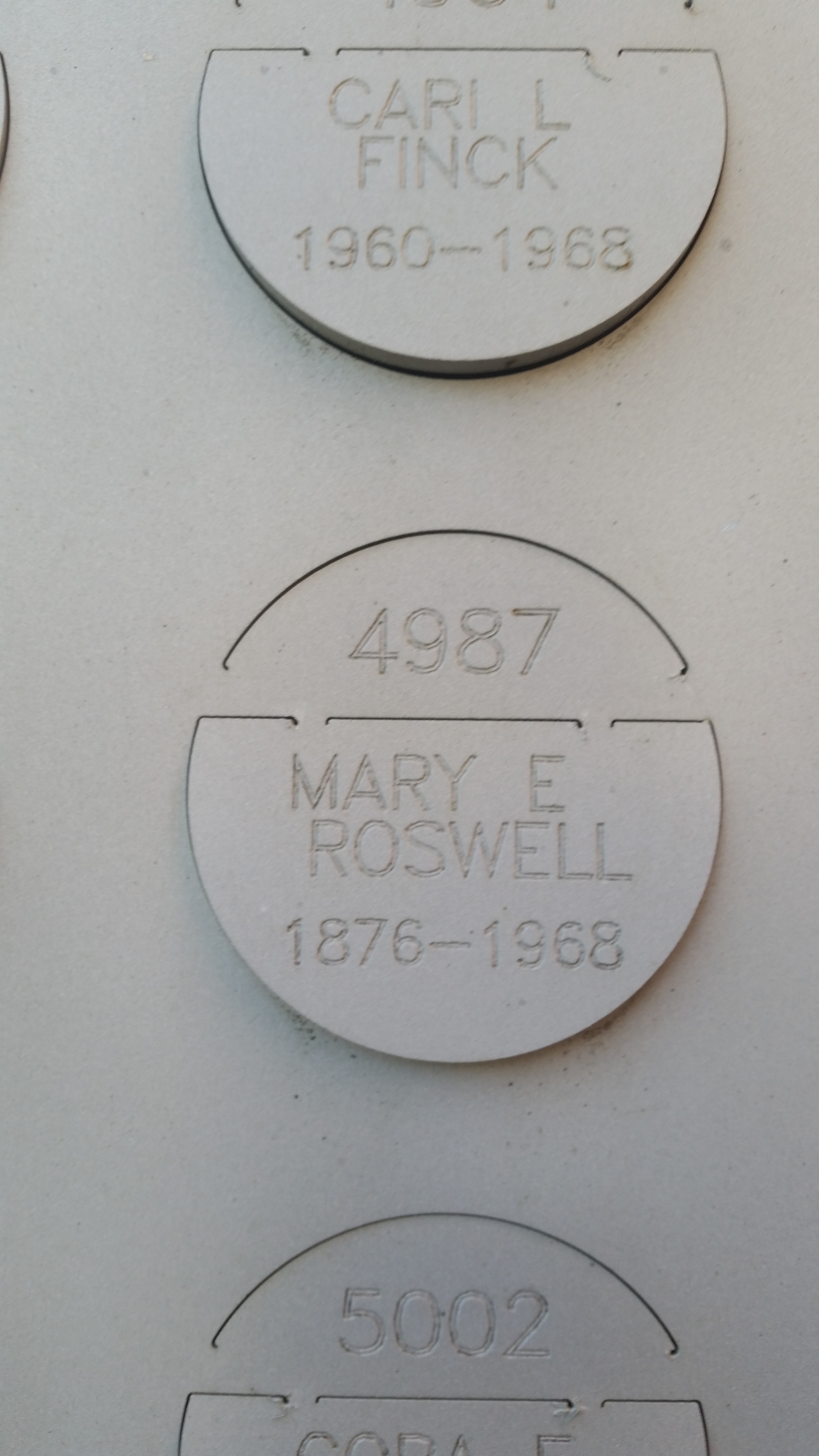 Mary Edith <i>Dunn</i> Roswell