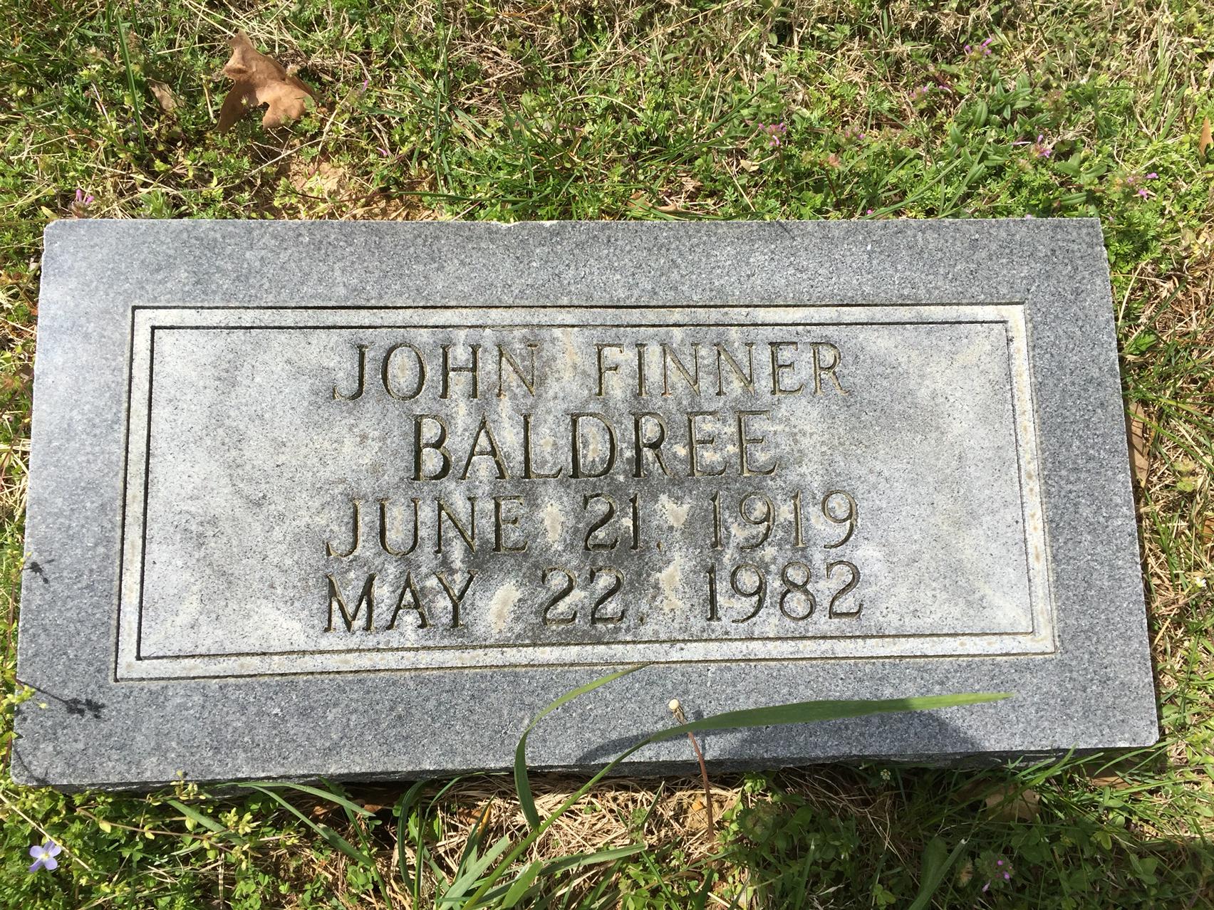John Finner Baldree