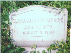 Clara Allen Tompkins