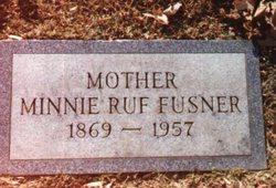 Minnie Jane <i>Archer</i> Ruf Fusner