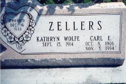 Carl Eugene Speedy Zellers