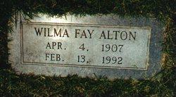 Wilma Fay <i>Davis</i> Alton