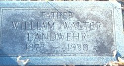 William Walter Landwehr