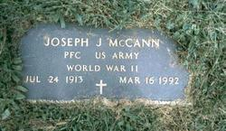Joseph J McCann
