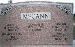 Gertrude Mary <i>Peck</i> McCann