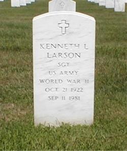 Sgt Kenneth L Larson
