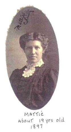 Mattie F. <i>Caswell</i> Christy