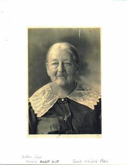 Sara Elizabeth <i>Rhodes</i> Burchett