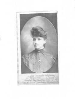 Lydia Gertrude <i>Holzhauer</i> Hartley