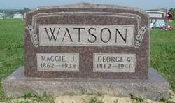 Maggie Jane <i>Beard</i> Watson