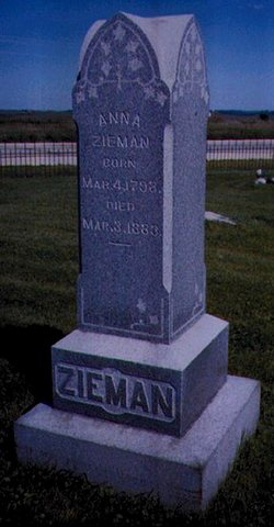Anna <i>Lehtzke</i> Zieman