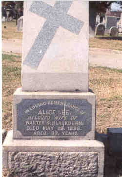Alice Lee <i>Tyler</i> Blackburn