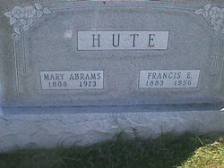 Mary Ellen <i>Abrams</i> Hute