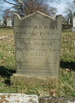 Philander H. Alpha
