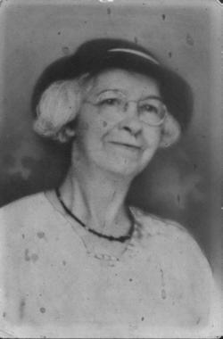 Sadie Ousten <i>Cornelius</i> Wolfe